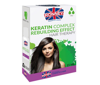 RONNEY Keratin Complex Rebuilding Effect Olie 15ml