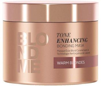 Schwarzkopf Blondme Tone Enhancing Bonding Mask Warm Blondes 200ml