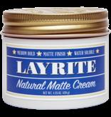 Layrite Original Natural Matte Cream 120g