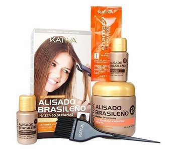 Kativa Brazilian smoothing straight-systeem Kit