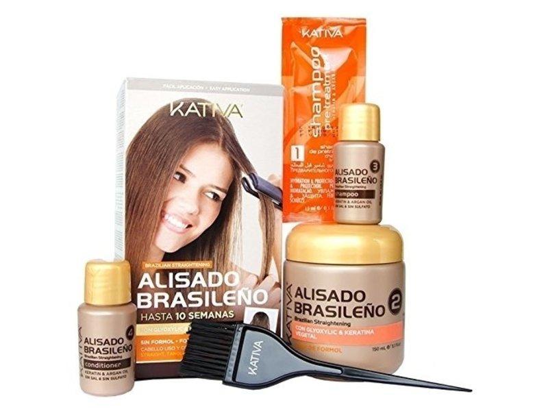 Kativa  Brazilian smoothing straight-systeem Kit