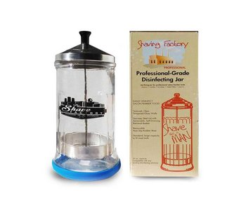 The Shave Factory Disinfecting Jar 0.5 Liter