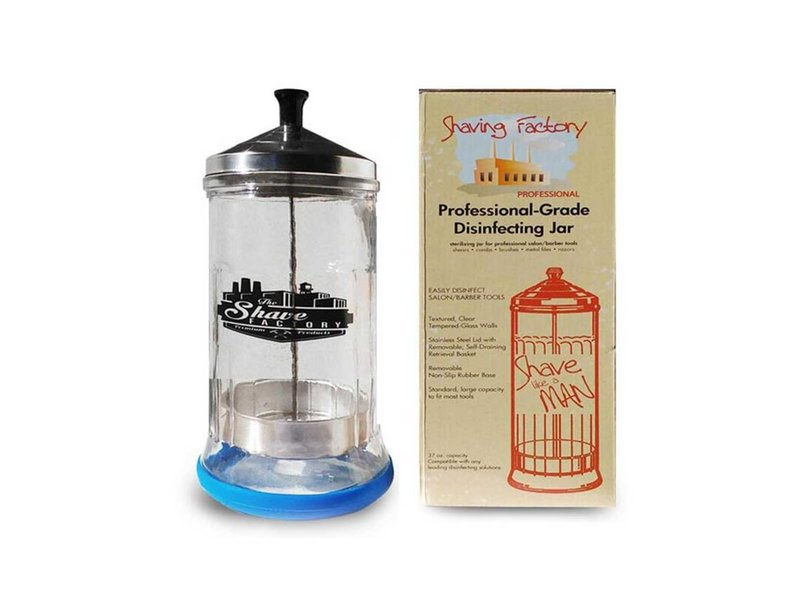 The Shave Factory Disinfecting Jar 0,5 Liter