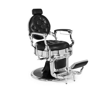 Mirplay Barberchair Kirk Black / Chrome