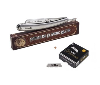 Hey Joe! Premium Styling Razor + Derby Premium Single Blades