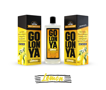 Golonya Eau de Cologne Lemon 250ml Glass Bottle