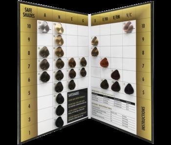 Royal KIS  Safeshades Color Chart