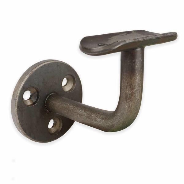 Handlaufhalter Stahl beschichtet Type 1 rund