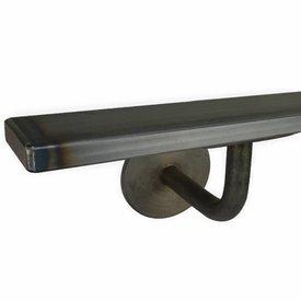 Handlauf Stahl beschichtet viereckig 40x10 Modell 3