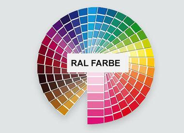 Handlauf in einer anderen RAL Farbe
