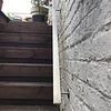 Handlauf Edelstahl viereckig 40x10 gebürstet Modell 3 - für draussen  - Rechteckige Edelstahl Treppengeländer - Treppenhandlauf draußen - Outdoor