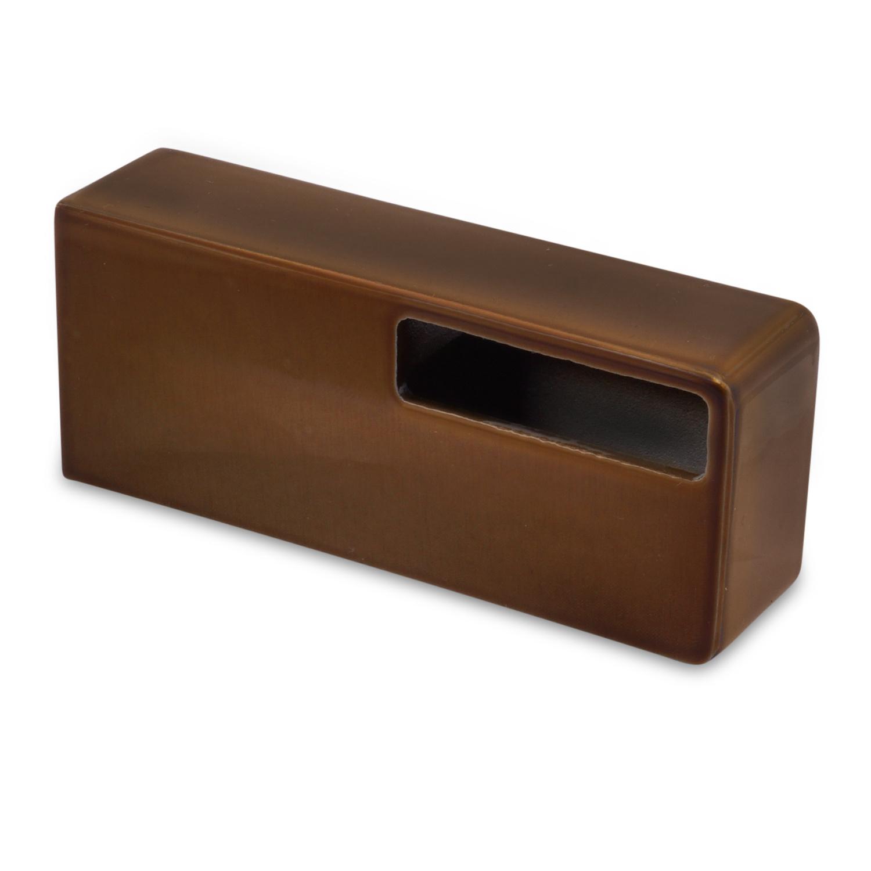 Handlauf Bronze Optik beschichtet viereckig 40x10 Modell 13 - Rechteckige Treppengeländer - Treppenhandlauf mit Bronze - Gold - Messing Pulverbeschichtung