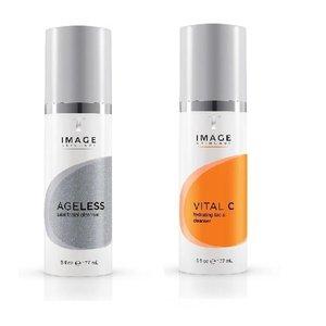 Image Skincare Cleanser combi Ageless en Vital C
