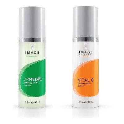 Image Skincare Ormedic en Vital C cleanser combi