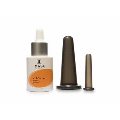 Image Skincare Vital C Hydrating Facial Oil + Skin Cups