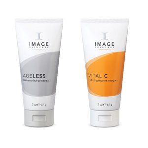 Image Skincare DUO Vital C Enzym + Ageless Resurfacing Masque
