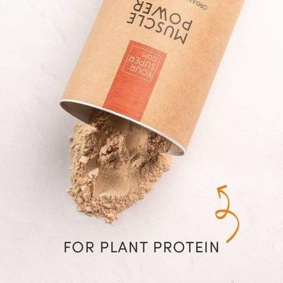 YourSuper Organic Muscle Power 400g