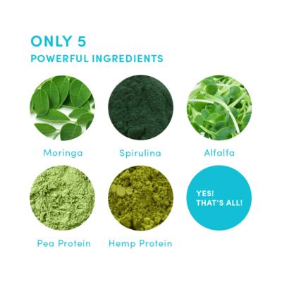 YourSuper Organic Skinny Protein 400g