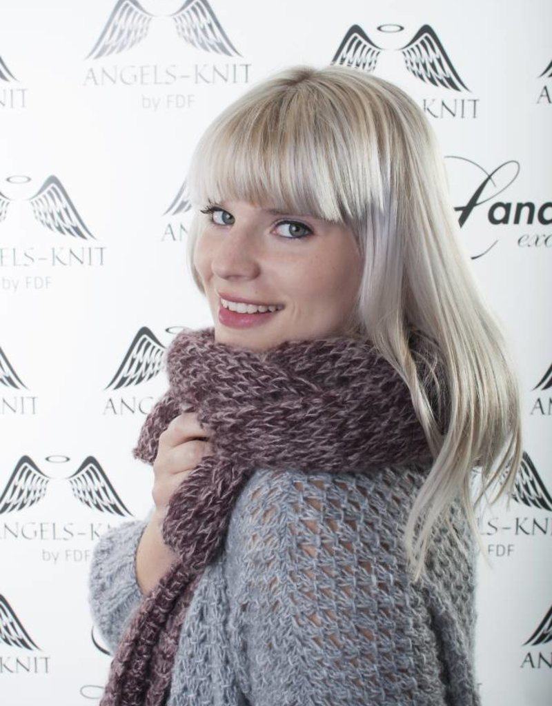 Angels-Knit by FDF 100% handmade Sjaals