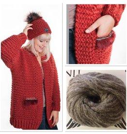 Angels-Knit by FDF 100% handmade Breipakket Inge Lichtbruin