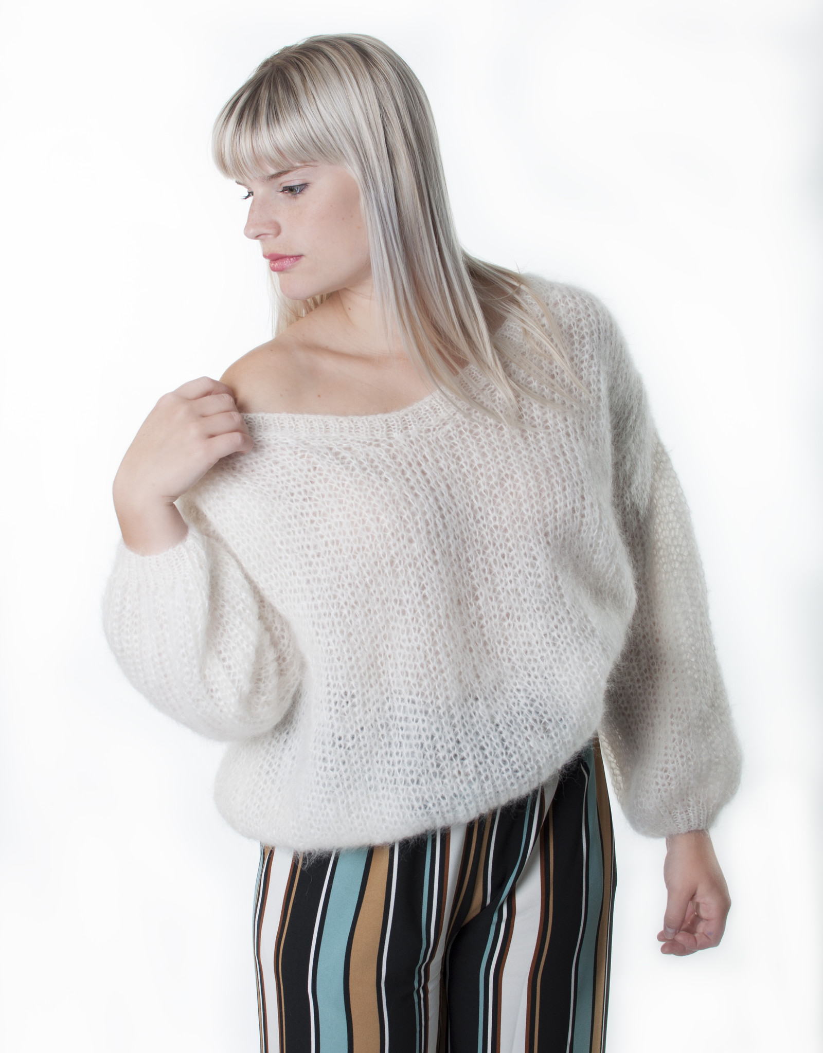 Angels-Knit by FDF 100% handmade Nore pull