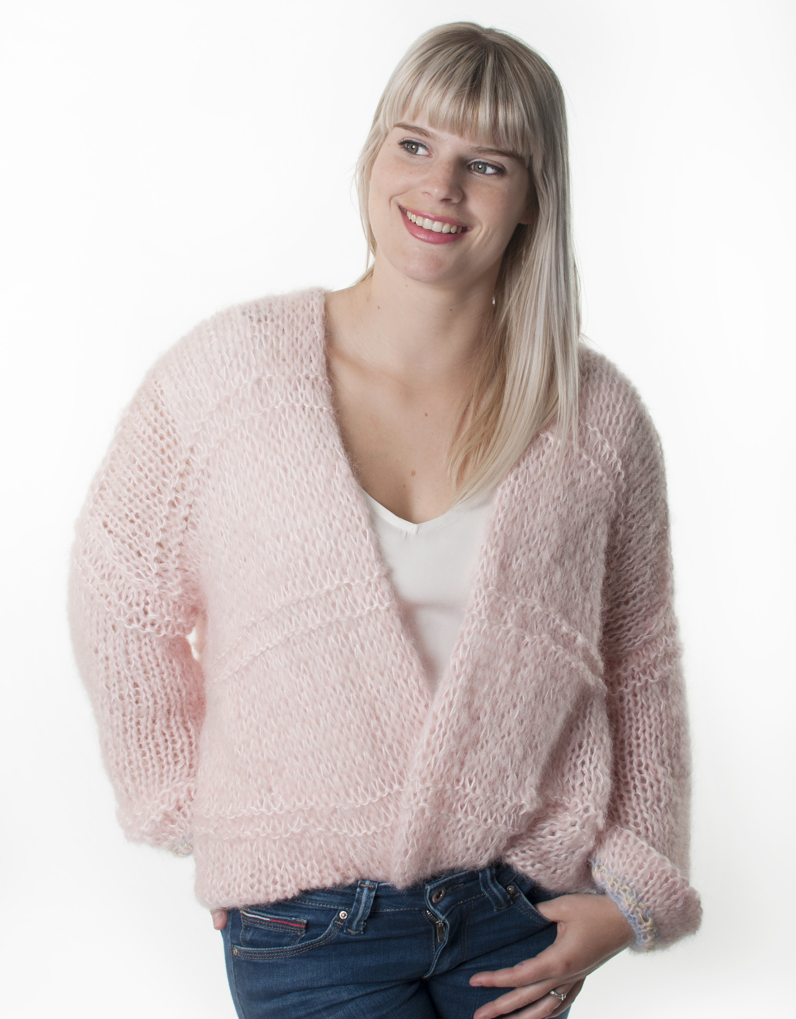Angels-Knit by FDF 100% handmade Jacky-Gilet