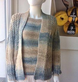 Angels-Knit by FDF 100% handmade Twinset  Setasol