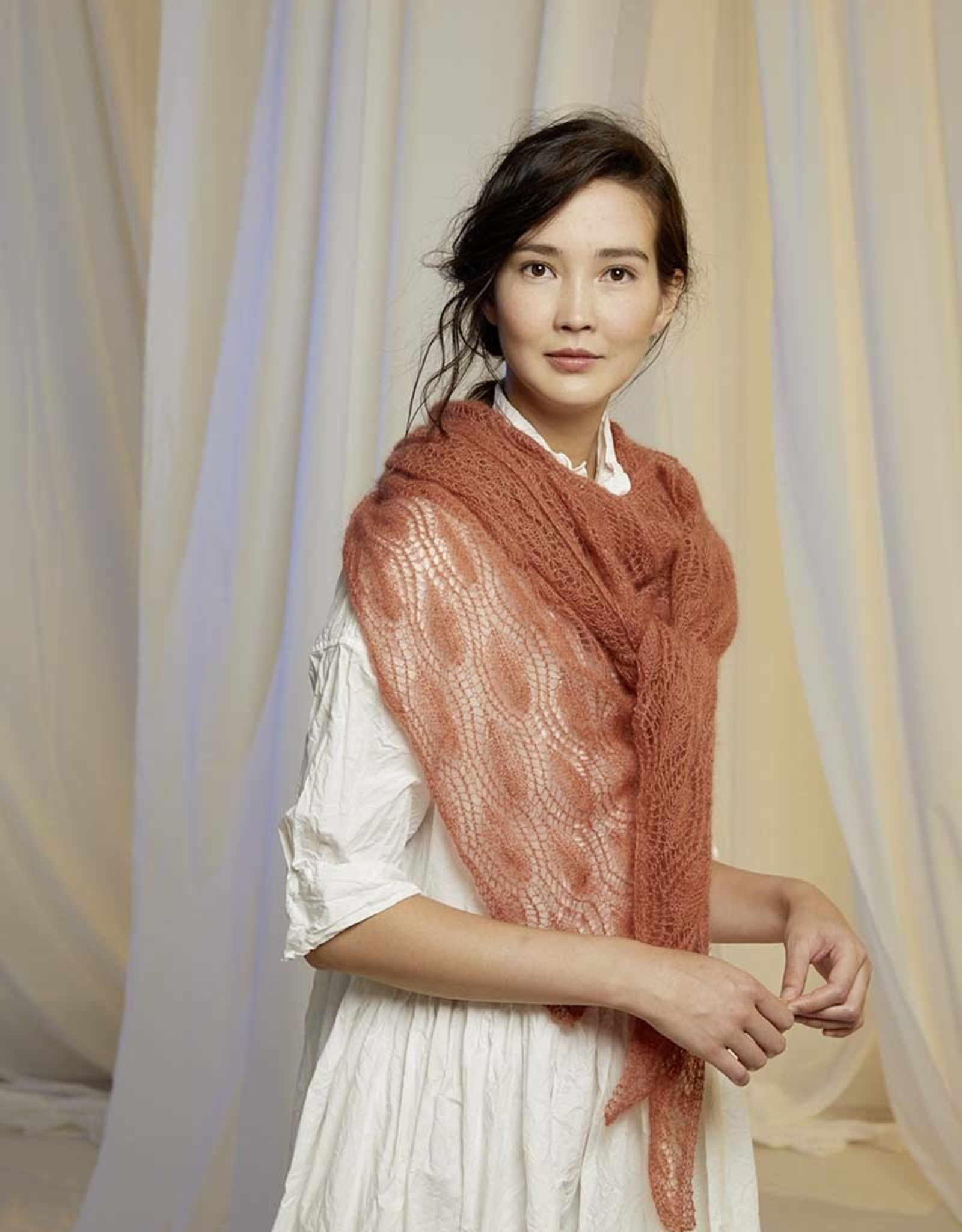 Angels-Knit by FDF 100% handmade Sjaal Lace Silk