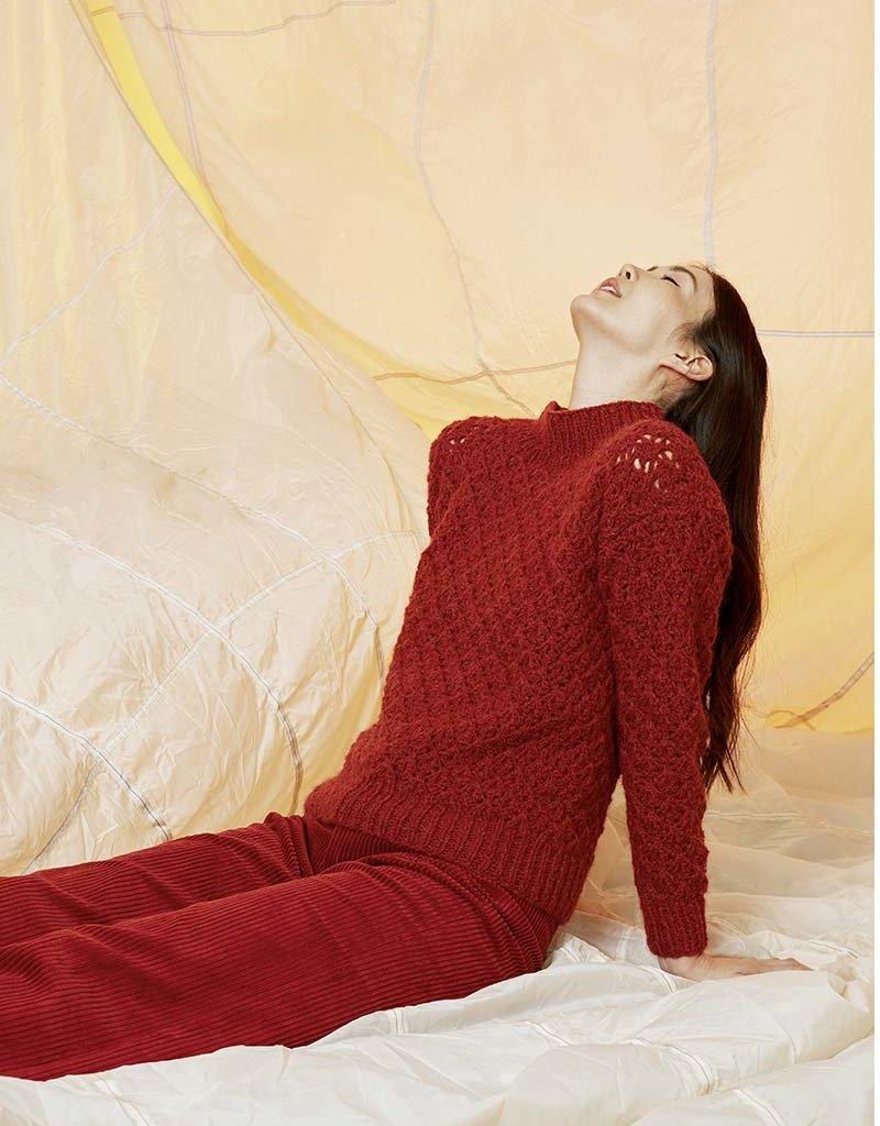 Angels-Knit by FDF 100% handmade Breipakket Trui Luna 0087 - M