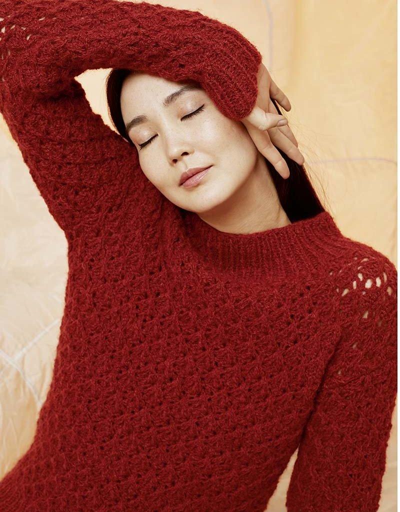 Angels-Knit by FDF 100% handmade Breipakket Trui Luna 0087 - L