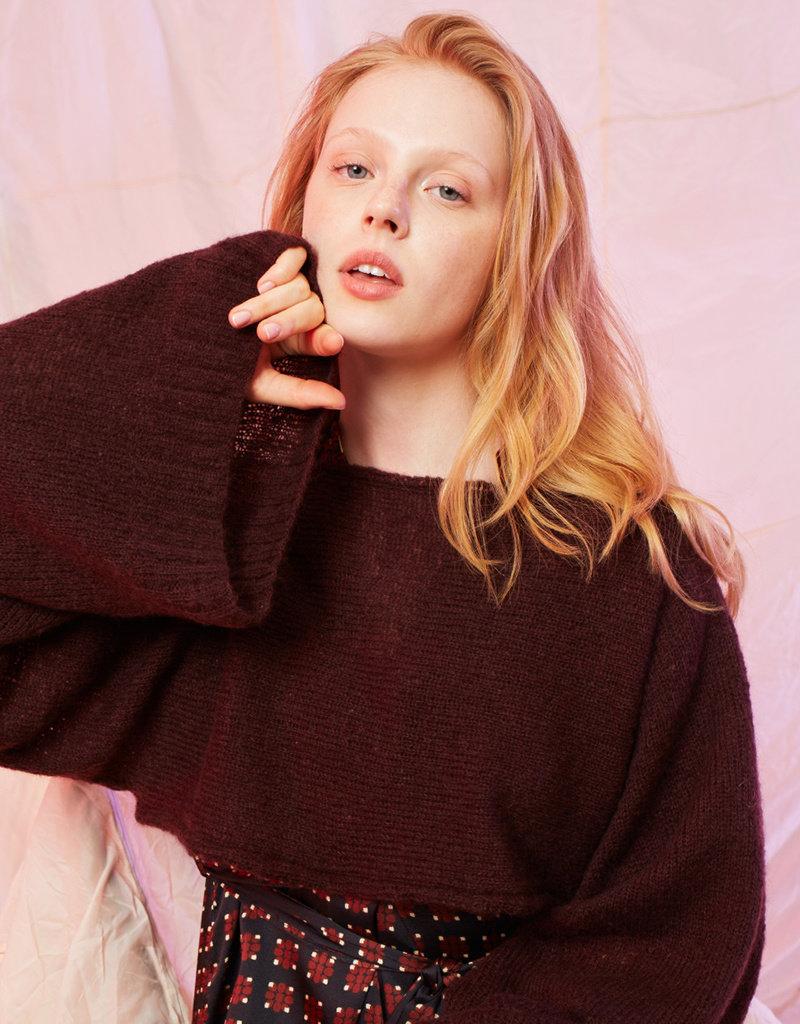 Angels-Knit by FDF 100% handmade Breipakket Korte Trui Lusso 0080