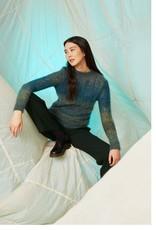Angels-Knit by FDF 100% handmade Breipakket Trui Mohair Color M - L