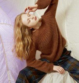 Angels-Knit by FDF 100% handmade Breipakket Trui Mohair - S