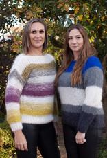 Angels-Knit by FDF 100% handmade Trui Soft Stripe