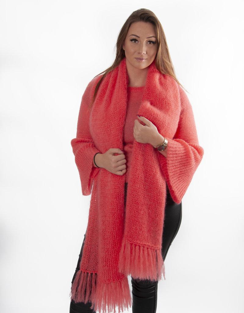 Angels-Knit by FDF 100% handmade Sjaal Manon Mohair/Silk