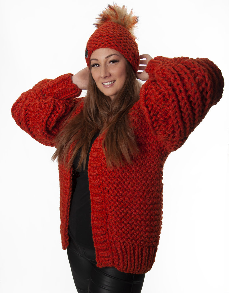 Angels-Knit by FDF 100% handmade Gilet Marie