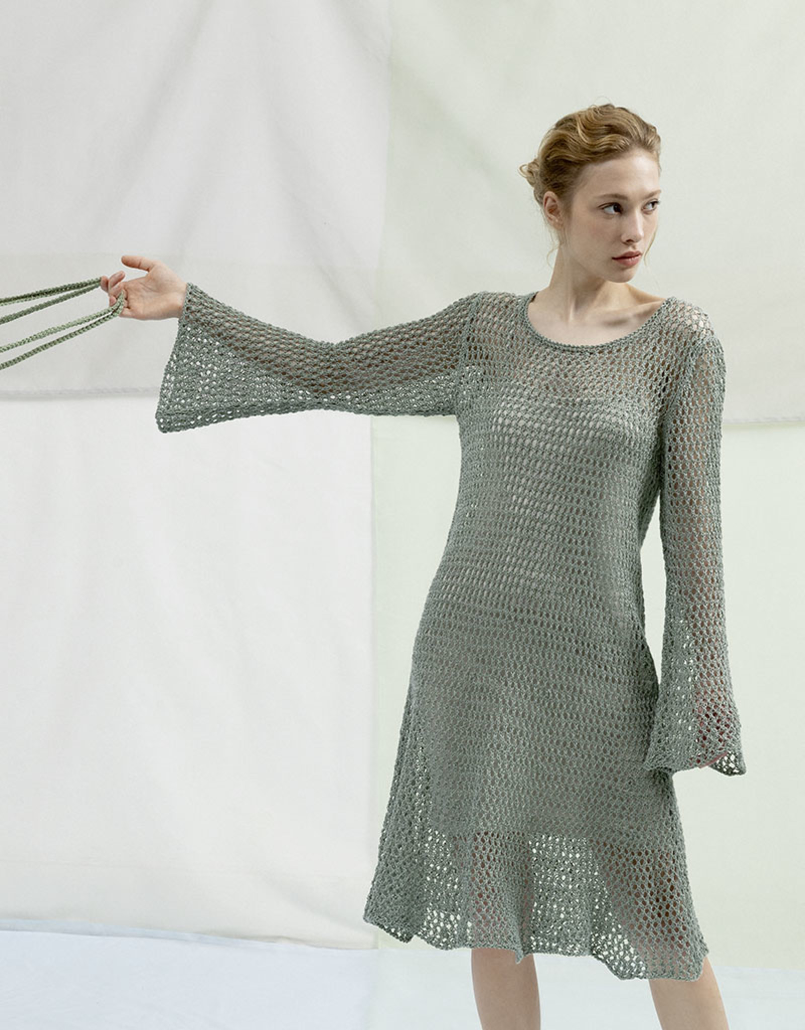 Angels-Knit by FDF Breipakket Jurk Canapa 071 - Smal