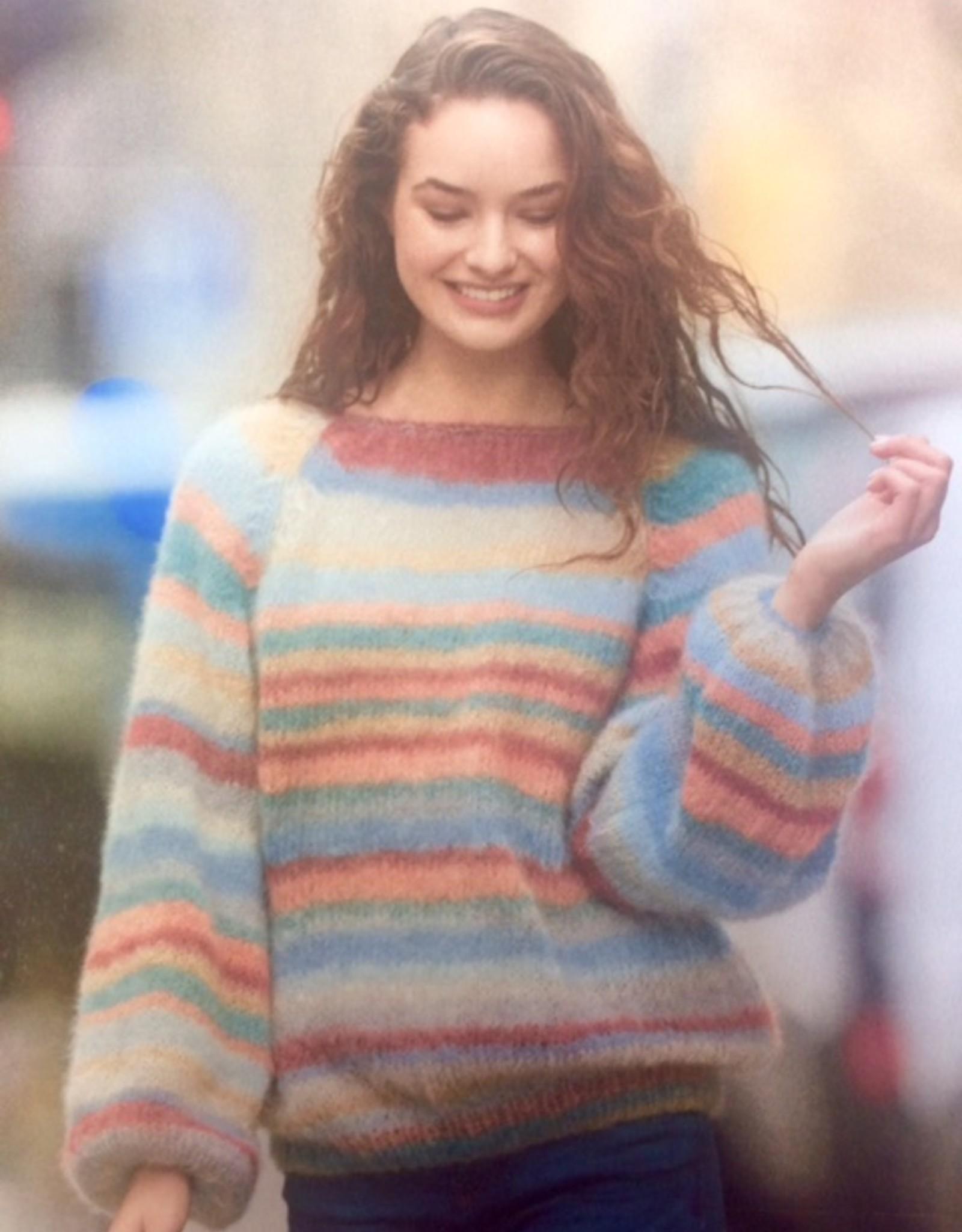Angels-Knit by FDF 100% handmade Breipakket Pull Ingenua Moda Raglan 42-44/46-48 / 106