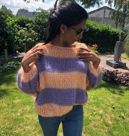 Angels-Knit by FDF Breipakket Pull Stripe Mohair Silk