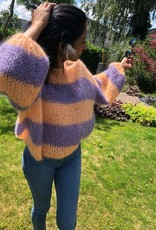 Angels-Knit by FDF Breipakket Pull Stripe Mohair Silk