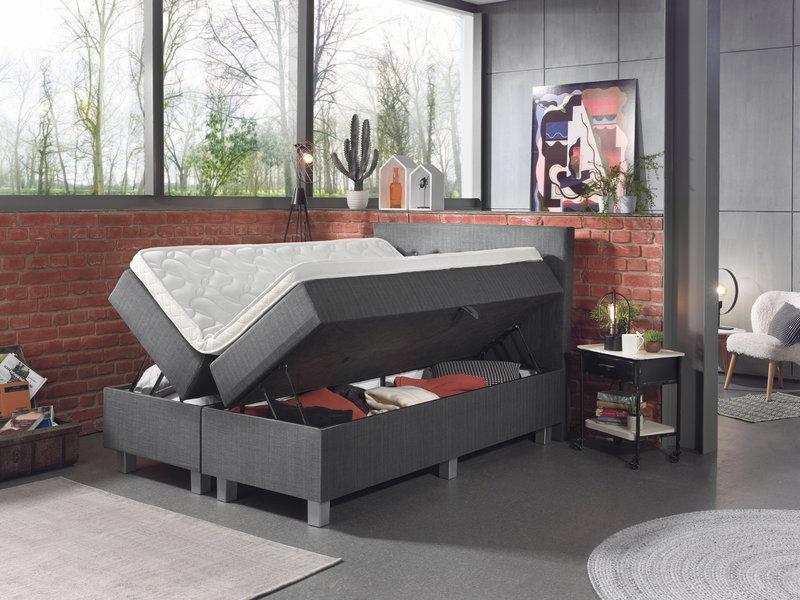 Luxe Hotelbed met Opbergruimte, tot wel 1080 liter opbergruimte!