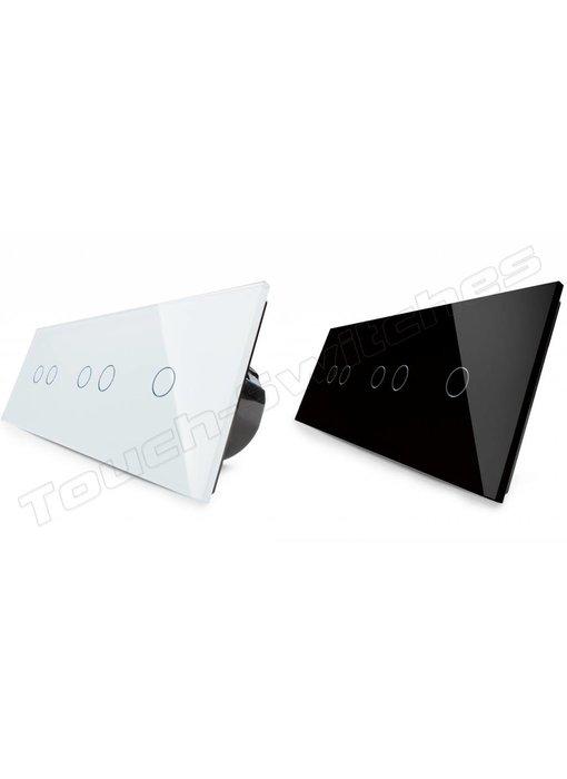 Livolo Touch-Schalter | 2 x 2-Polig + 1-Polig