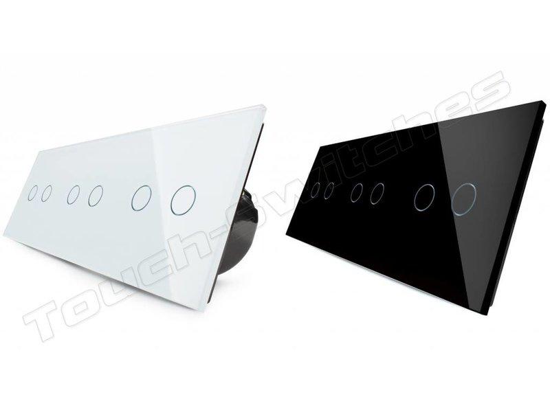 Livolo Design Touch Schakelaar   3 x Serie   3 Raams