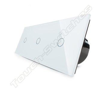 Livolo Touch Dimmer   3 x Enkelpolig