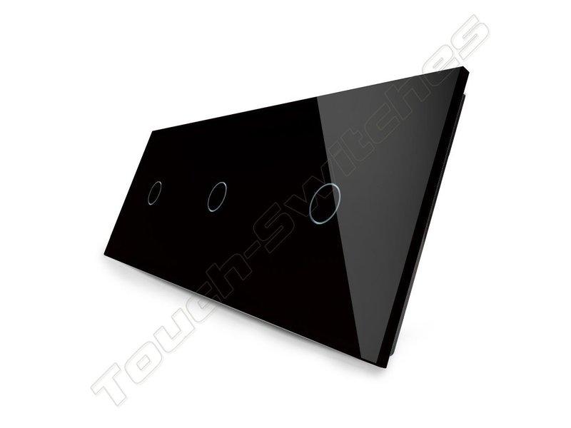 Livolo Design Touch Dimmer | 3 x Enkelpolig | 3 Raams