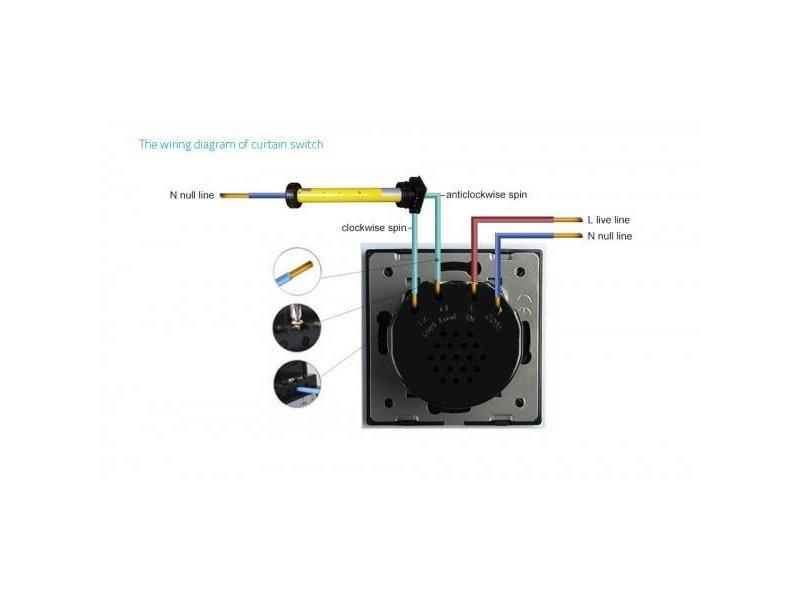 Design Touch Switch | Sun protection | Rolluik | Module