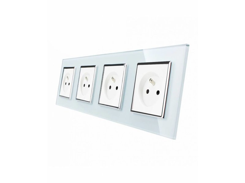 Livolo Design Socket | Quadruple | 4 Hole | FR