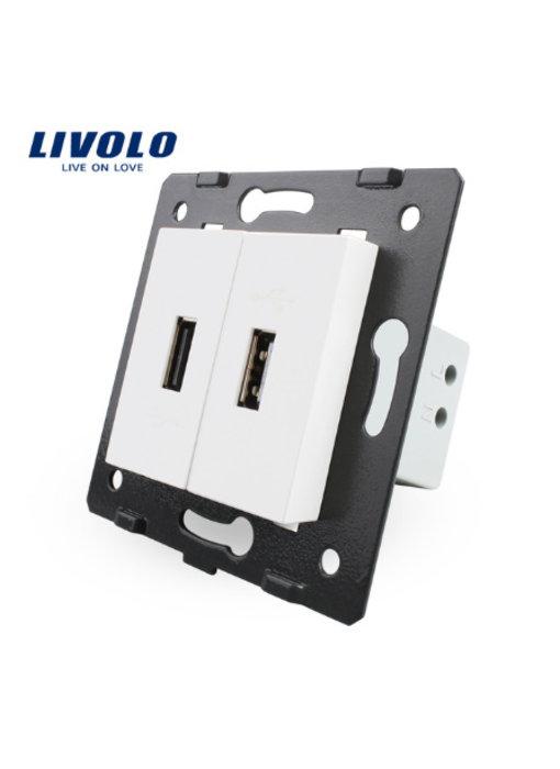 Livolo USB-Modul | 2 X USB | 1 Fach