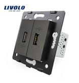 2 X Design USB Module | 5V 2100 Mah | 1 Raam