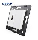Livolo 1 X Design USB-Modul   5V 2100 Mah   1 Fach